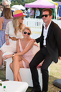 JULIA NEAL; LUCY GEORGE; DAMIEN MARTYN, Veuve Clicquot Gold Cup, Cowdray Park, Midhurst. 21 July 2013