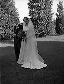 1952 Wedding of Thomas O'Mara and Miss C. O'Sullivan at Lucan Church