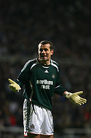 Photo: Andrew Unwin.<br /> Newcastle United v Chelsea. Carling Cup. 20/12/2006.<br /> Newcastle's Shay Given.