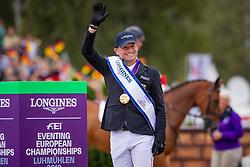 Individual Podium, Jung Michael, GER, Silver medal<br /> European Championship Eventing<br /> Luhmuhlen 2019<br /> © Hippo Foto - Dirk Caremans