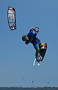 Outerbanks, NC - Aaron Hadlow kiteboarding at the Triple-S 2011
