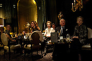 PRINCESS LEE RADZIWILL AMONGST OTHERS WATCHING NICKY HASLAM, Nicky Haslam with pianist Paul Guinery performing songs by Cole Porter, Irving Berlin, Rogers and Hammerstein  and others at th BEAUFORT BAR? SAVOY- 8.P.M.