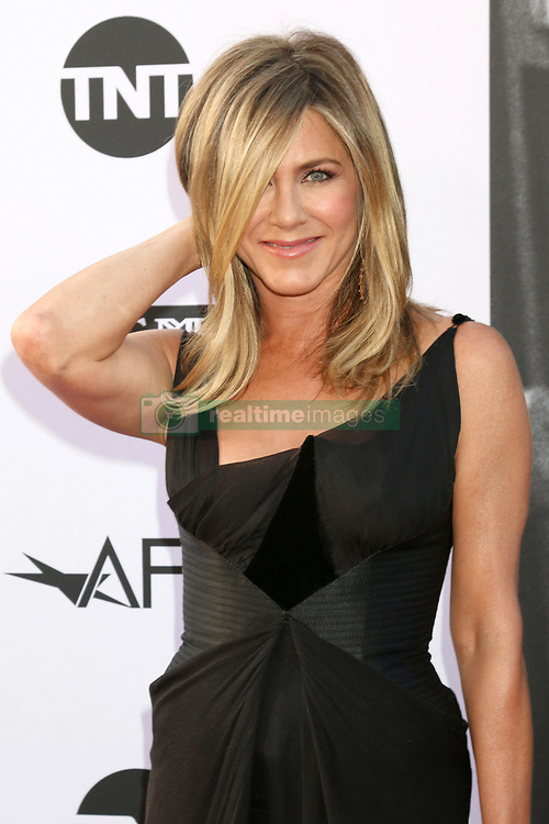 June 7, 2018 - Los Angeles, California, U.S. - JENNIFER ANISTON at the American Film Institute Lifetime Achievement Award to G. Clooney at the Dolby Theater. (Credit Image: © Kathy Hutchins via ZUMA Wire)