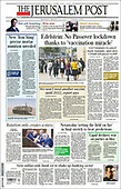 March 15, 2021 (ASIA-PACIFIC): Front-page: Today's Newspapers In Asia-Pacific