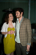 HAYLEY ATWELL AND GABRIEL BISHOP-SMITH, ESQUIRE Editor Jeremy Langmead hosts a Salon/ dinner in honour of Casey Affleck. SUKA at Sanderson Hotel, 15 Berners Street, London. 28 May 2008 *** Local Caption *** -DO NOT ARCHIVE-© Copyright Photograph by Dafydd Jones. 248 Clapham Rd. London SW9 0PZ. Tel 0207 820 0771. www.dafjones.com.