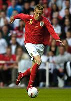 Photo: Richard Lane.<br />England 'B' v Belarus. International Friendly. 25/05/2006.<br />England's Peter Crouch.