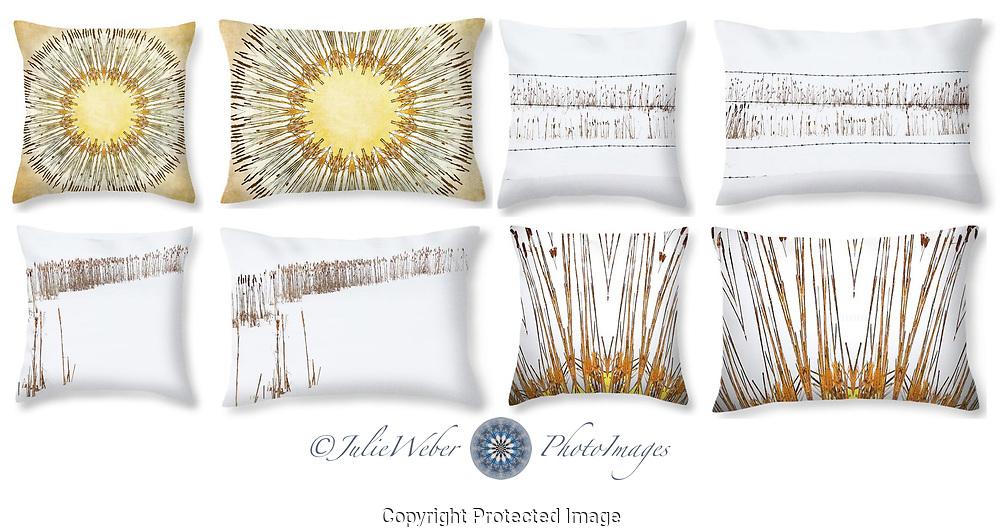Cattails - Shop here: https://2-julie-weber.pixels.com/shop/throw+pillows/cattails