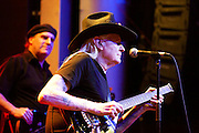 Johnny Winter performing  at Arena  Club in Madrid