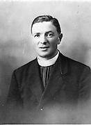 15/9/1952<br /> 9/15/1952<br /> 15 September 1952<br /> <br /> Reverend Maurice Kennedy of Wexford
