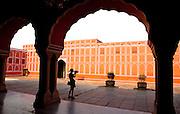Erin at Amer Palace, Jaipur, India