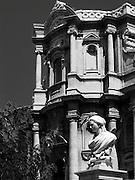 Noto il famoso paese tutelato dall'Unesco per l'architettura barocca..La chiesa di San Domenico..Noto, the famous village protected from Unesco for his baroque architecture..The church of San Domenico