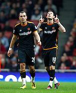 Arsenal v Wolverhampton Wonderers 271211