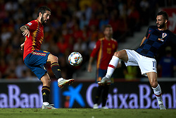 September 11, 2018 - Elche, Spain - Isco Alarcon of Spain  and Marcelo Brozovic of Croatia battle for the ball during the UEFA Nations League football match between Spain and Croatia at Martinez Valero Stadium in Elche, Spain on September 11, 2018. (Credit Image: © Jose Breton/NurPhoto/ZUMA Press)