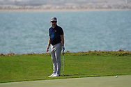 Mikko Korhonen (FIN) on the 9th during Round 4 of the Oman Open 2020 at the Al Mouj Golf Club, Muscat, Oman . 01/03/2020<br /> Picture: Golffile   Thos Caffrey<br /> <br /> <br /> All photo usage must carry mandatory copyright credit (© Golffile   Thos Caffrey)