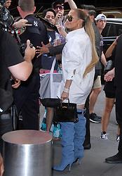 NEW YORK, NY July 30: Jennifer Lopez at TRL AM in New York City on July 30, 2018. 31 Jul 2018 Pictured: Jennifer Lopez. Photo credit: RW/MPI/Capital Pictures / MEGA TheMegaAgency.com +1 888 505 6342
