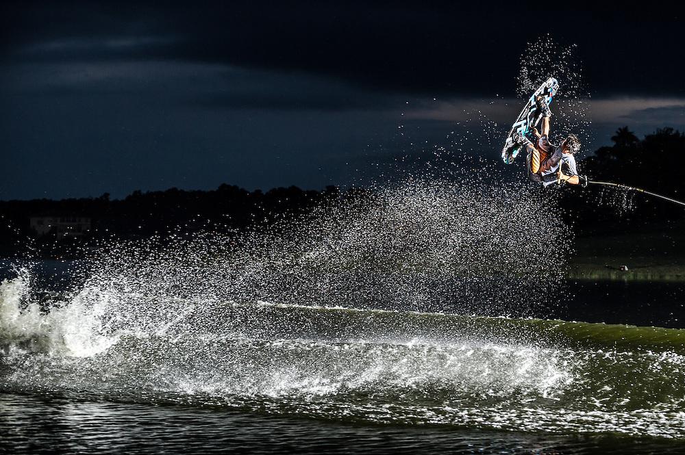 Derek Cook shot for Alliance Wakeboard Magazine in Orlando, Florida.