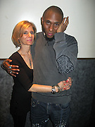 """9 January-NY, NY- l to r: Jill Newman and MOS DEF at MOS DEF produced by Jill Newman Productions held at Highline Ballroom on January 9, 2009 in NYC. Photo Credit: Terrence Jennings/SIPA Press..Regarded as one of hip-hop's most introspective and insightful artists, Mos Def has shaped a career that transcends music genres and artistic medium. With the release of """"Universal Magnetic"""" in 1996 he became an underground favorite, leading to his legendary collaboration with Talib Kweli. The two formed Black Star, whose debut album, Mos Def and Talib Kweli Are?Black Star, would become one of the most critically acclaimed hip-hop albums of all time. Mos followed that release with his 1999 solo debut, Black On Both Sides, which featured the classic tracks """"Ms. Fat Booty"""" and """"Umi Says."""" The album was certified gold and credited by critics as bringing hip-hop back to its soapbox roots."""
