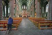 Duitsland, Xanten, 6-4-2012In dity duitse stadje vlak over de grens van nederland bij nijmegen staat een gotische dom, kerk. Xanten was ook bekend tijdens de tijd van de romeinen.Foto: Flip Franssen/Hollandse Hoogte