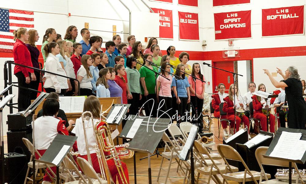 Laconia High School Spring Concert May 24, 2011.  Karen Bobotas/for the Laconia Daily Sun