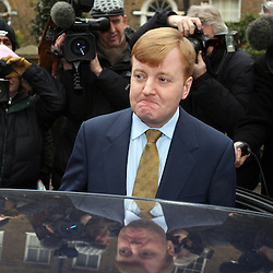 PIC BY PAUL GROVER PIC SHOWS LIB DEM LEADER CHARLES KENNEDY LEAVING HID HOME THIS MORNING  PIC PAUL GROVER