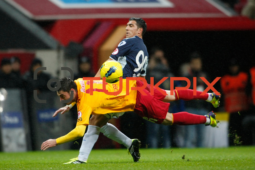 Galatasaray's Albert Riera Ortega (F) during their Turkey Cup matchday 3 soccer match Galatasaray between AdanaDemirspor at the Turk Telekom Arena at Aslantepe in Istanbul Turkey on Tuesday 10 January 2012. Photo by TURKPIX