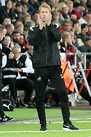 Football - 2018 / 2019 EFL Carabao Cup (League) Cup - Swansea City vs. Crystal Palace<br /> <br /> Swansea City manager Graham Potter on the touchline, at Liberty Stadium.<br /> <br /> COLORSPORT/WINSTON BYNORTH