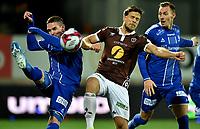 Fotball, 27. oktober  2019 , Eliteserien , Mjøndalen - Sarpsborg Sondre Solholm Johansen , MIF<br /> Kyle Lafferty , S08