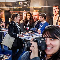 Nederland, Amsterdam, 25 maart 2017.<br /> IamExpat Fair in de Westergasfabriek.<br /> De IamExpat Fair is een gratis evenement dat zich richt op alles wat expats nodig hebben om hun leven in Nederland te optimaliseren.<br /> De ontmoetingsplaats voor expats en lokale bedrijven <br /> De IamExpat Fair is ontwikkeld om internationals in Nederland te ondersteunen, en om hen in contact te brengen met lokale bedrijven en diensten. <br /> Internationals die dit baanbrekende evenement bezoeken vinden alles wat zij nodig hebben op één plaats, en op één dag. Bedrijven en organisaties met betrekking tot alles van carrière, wonen, onderwijs en expat services, tot familie, gezondheid en vrije tijd - je vindt het op de IamExpat Fair! <br /> <br /> Dit gratis evenement vindt plaats van 10 uur 's ochtends tot 5 uur 's middags in Zuiveringshal West in de Westergasfabriek. Tientallen bedrijven en organisaties zullen er staan met stands om informatie te bieden, en gedurende de hele dag vinden er gratis workshops en presentaties plaats in Het Ketelhuis, de North Sea Jazz Club en de Werkkamer. <br /> <br /> The Netherlands, Amsterdam, 25th march 2017 <br /> The IamExpat Fair is an international one-day event designed to connect and support the expat community in the Netherlands. Join the fair to:<br /> - Find all the services and businesses you need in a single location.<br /> - Learn how to navigate life in the Netherlands at free workshops and presentations.<br /> - Connect with other expats, organisations and the international community.<br /> <br /> Foto: Jean-Pierre Jans