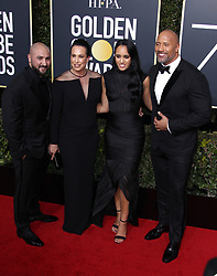 75th Annual Golden Globes. 07 Jan 2018 Pictured: Dwayne Johnson. Photo credit: MEGA TheMegaAgency.com +1 888 505 6342