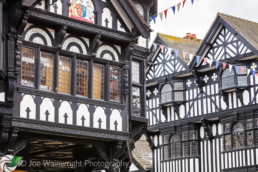 The Cross, in Chester, is where the city's four main streets meet.  The city retains the original Roman street pattern and The Cross is close to the location of the Principia building, or Roman headquarters.