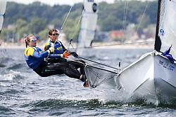 , Kiel - Kieler Woche 17. - 25.06.2017, 49er FX - SWE 381 - Julia GROSS - Hanna KLINGA - Royal Swedish Yacht Club