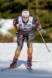 18.01.2014, Nordic Arena, Szklarska Poreba, POL, FIS Weltcup Langlauf, Szklarska Poreba, Damen, 1,5 KM Sprint Frei, Qualification, im Bild SANDRA RINGWALD // SANDRA RINGWALD during the Qualification of Ladies 1.5 km Sprint Free oft the Szklarska Poreba FIS Cross Country world cup at the Nordic Arena in Szklarska Poreba, Poland on 2014/01/18. EXPA Pictures © 2014, PhotoCredit: EXPA/ Newspix/ Sebastian Borowski<br /> <br /> *****ATTENTION - for AUT, SLO, CRO, SRB, BIH, MAZ, TUR, SUI, SWE only*****