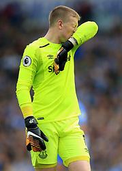 15 October 2017 -  Premier League - Brighton and Hove Albion v Everton - Jordan Pickford of Everton - Photo: Marc Atkins/Offside
