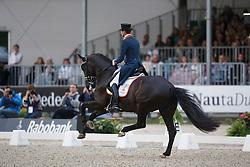 Gal Edward, (NED), Glock's Undercover<br /> Interchem prijs Grand Prix Freestyle CDI5*<br /> CHIO Rotterdam 2015<br /> © Hippo Foto - Dirk Caremans<br /> 20/06/15