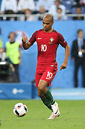 Portugal Midfielder Joao Mario during the Euro 2016 final between Portugal and France at Stade de France, Saint-Denis, Paris, France on 10 July 2016. Photo by Phil Duncan.