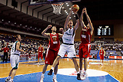 DESCRIZIONE : Sapporo Giappone Japan Men World Championship 2006 Campionati Mondiali Slovenia-China <br /> GIOCATORE : Brezec <br /> SQUADRA : Slovenia <br /> EVENTO : Sapporo Giappone Japan Men World Championship 2006 Campionato Mondiale Slovenia-China <br /> GARA : Slovenia China Slovenia Cina <br /> DATA : 24/08/2006 <br /> CATEGORIA : Rimbalzo Sponsor Adecco <br /> SPORT : Pallacanestro <br /> AUTORE : Agenzia Ciamillo-Castoria/G.Ciamillo <br /> Galleria : Japan World Championship 2006<br /> Fotonotizia : Sapporo Giappone Japan Men World Championship 2006 Campionati Mondiali Slovenia-China <br /> Predefinita :
