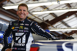 June 23, 2017 - Sonoma, CA, United States of America - June 23, 2017 - Sonoma, CA, USA: Jamie McMurray (1) hangs out in the garage during practice for the Toyota/Save Mart 350 at Sonoma Raceway in Sonoma, CA. (Credit Image: © Justin R. Noe Asp Inc/ASP via ZUMA Wire)