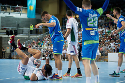 Laszlo Nagy of Hungary during handball game between Man National Teams of Slovenia and Hungary in 2019 Man's World Championship Qualification, on June 9, 2018 in Arena Bonifika, Ljubljana, Slovenia. Photo by Urban Urbanc / Sportida