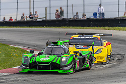 May 6, 2018 - Lexington, Ohio, United States of America - The Tequila Patron Nissan DPI car races through the keyhole turn during the the Acura Sports Car Challenge at Mid Ohio Sports Car Course in Lexington, Ohio. (Credit Image: © Walter G Arce Sr Asp Inc/ASP via ZUMA Wire)