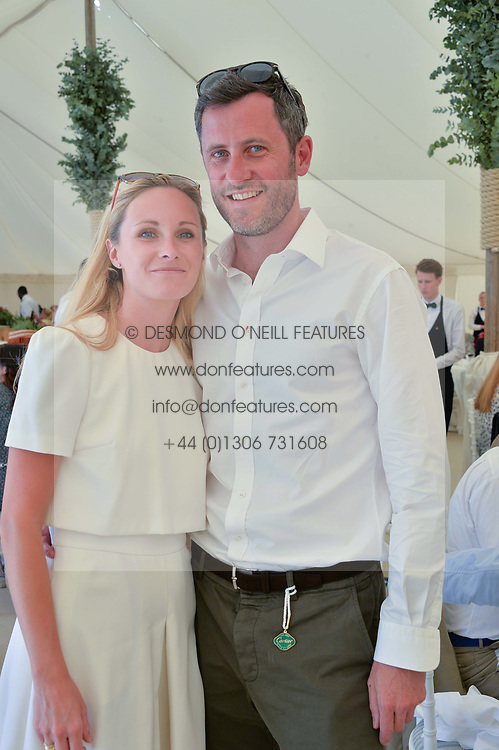 Lord & Lady Pembroke at the Cartier Style et Luxe at the Goodwood Festival of Speed, Goodwood, West Sussex, England. 2 July 2017.
