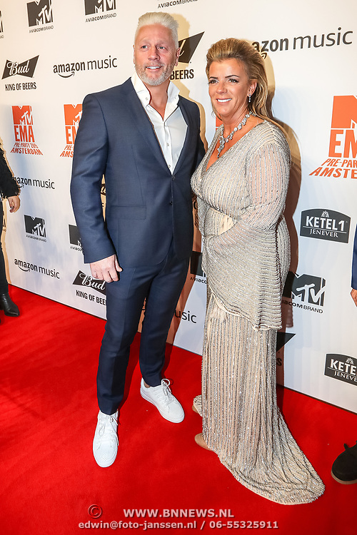 NLD/Amsterdam/20191028 - MTV Pre Party in Amsterdam, Ouders Harrie Snijders