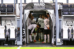 Derby County players in the tunnel - Mandatory by-line: Ryan Crockett/JMP - 16/01/2021 - FOOTBALL - Pride Park Stadium - Derby, England - Derby County v Rotherham United - Sky Bet Championship