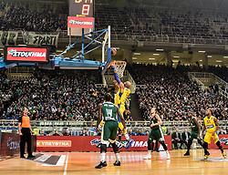 December 19, 2017 - Athens, Greece - Euroleague basketball game between Panathinaikos Superfoods Athens and Maccabi Fox Tel Aviv in Athens, Greece, 19 December 2017. (Credit Image: © Dimitris Lampropoulos/NurPhoto via ZUMA Press)