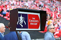 Football - 2017 / 2018 FA Cup - Semi Final: Chelsea vs. Southampton<br /> <br /> The VAR sits ready for action at Wembley Stadium <br /> <br /> COLORSPORT/SHAUN BOGGUST