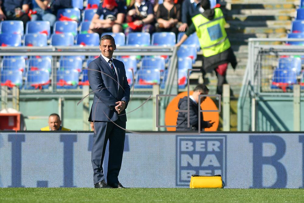 Roma 22/02/2020 Stadio Olimpico<br /> Guinness 6 nations 2020 : Italia vs Scozia<br /> Franco Smith