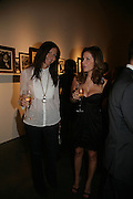 Valerie Micchetti and Ana Paula, Michael Roberts - book launch party hosted by Vanity Fair to celebrate  publication, Shot In Sicily. Hamiltons Gallery, 13 Carlos Place, London,17 September 2007. -DO NOT ARCHIVE-© Copyright Photograph by Dafydd Jones. 248 Clapham Rd. London SW9 0PZ. Tel 0207 820 0771. www.dafjones.com.