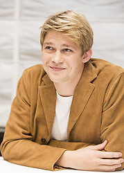 October 15, 2016 - New York, New York, U.S. - Joe Alwyn stars in the movie Billy Lynn's Long Halftime Walk. Billy is a British Actor and was picked by Ang Lee from obscurity to take the title role of Billy Lynn in what will be his acting debut. (Credit Image: © Armando Gallo via ZUMA Studio)