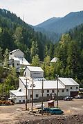 Klondike Silver Corp. mine in Sandon, Slocan Valley, West Kootenay, British Columbia, Canada