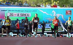 13.09.2011, Sportski Park Mladost, CRO, Athletics Meeting, IAAF World Challenge, Zagreb 2011, im Bild  Lashawn Merrit // during Athletics Meeting, IAAF World Challenge, Zagreb 2011 at Sportski Park Mlados in Zagreb Croatia on 13/09/2011. EXPA Pictures © 2011, PhotoCredit: EXPA/ nph/ Pixsell +++++ ATTENTION - OUT OF GERMANY/(GER), CROATIA/(CRO), BELGIAN/(BEL) +++++