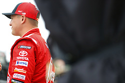 November 16, 2018 - Homestead, Florida, U.S. - Ryan Preece (18) hangs out in the garage during practice for the Ford 300 at Homestead-Miami Speedway in Homestead, Florida. (Credit Image: © Chris Owens Asp Inc/ASP)